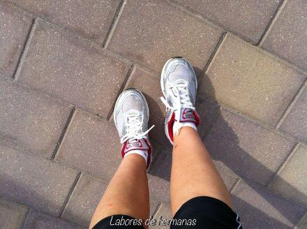 Material necesario para esta actividad: unas buenas zapatillas.