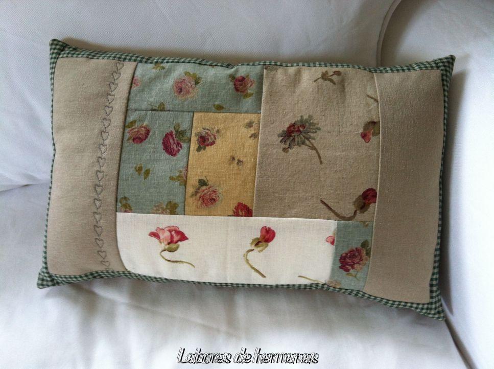 El cojín ha sido super fácil de coser